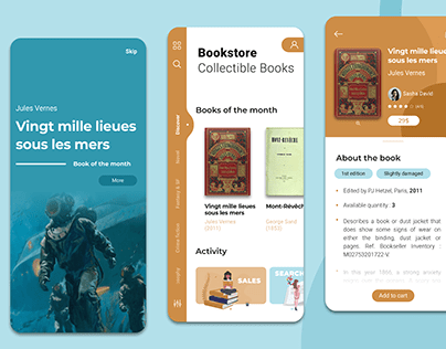 Booktsore app