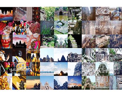 Colors of the World - Angkor Wat