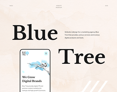 Blue Tree - Website Redesign