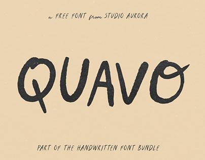 QUAVO - FREE FONT