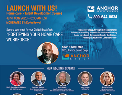 flyer for Anchor Group