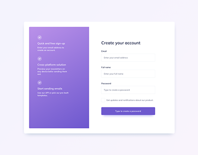Day 1206・Sign Up UI Design
