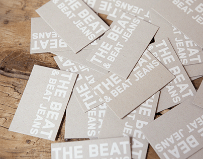 The Beat & Beat Jeans | Brand identity