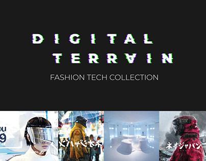 Digital Terrain   Fashion Technology Capsule Collection