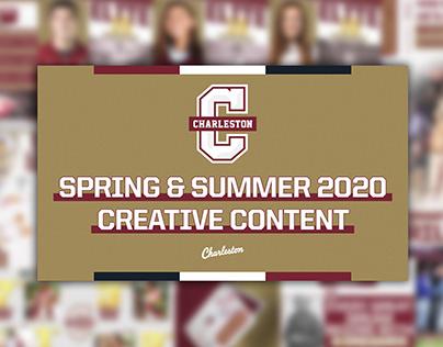 Spring & Summer 2020 Creative Content | CofC Athletics