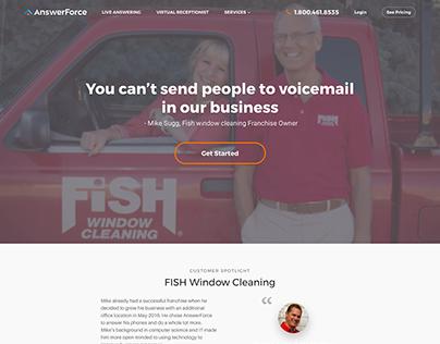 Customer Case Study Page Design