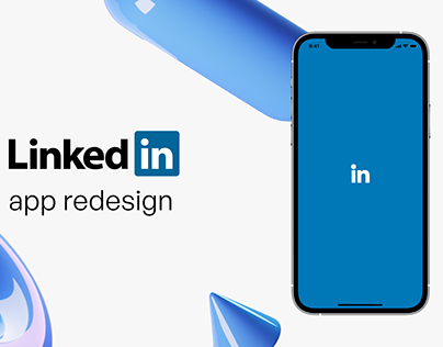 DailyUI - Linkedin app Redesign
