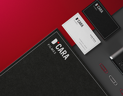 D'CARA Filmes - Corporate Identity