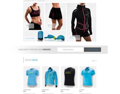 2018 website design