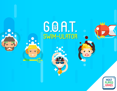 GOAT Swim-ulator! Game
