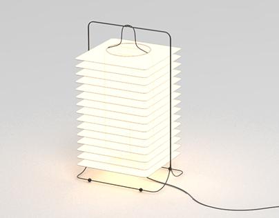 lamp design by studio inbetween