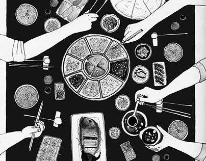 illustrations for l'Officiel Voyage magazine