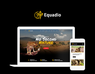 Equadio - Non-Profit and Environmental WordPress Theme