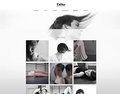 Website for Dancer