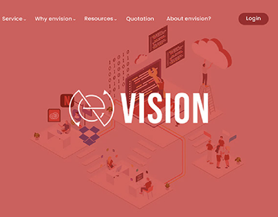 Microwebsite sample designed for an marketing agency