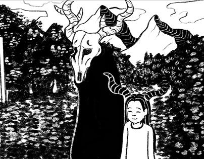 Ilustração de História em Quadrinhos