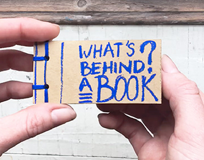 What's behind a book - Flip book - (Caccivacci/04)