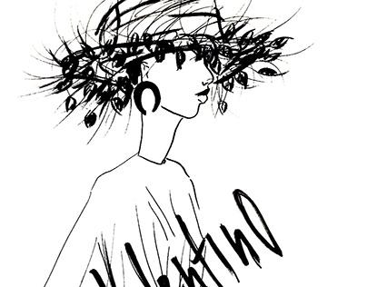 Fashion Illustration Valentino SS'19