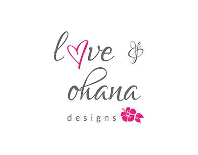 Love & Ohana - Identity Design