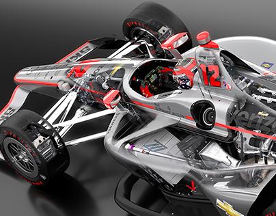 Will Power   2018 INDY 500 winner   Penske Chevrolet
