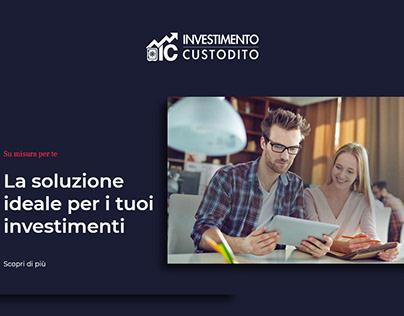 Investimento Custodito | Web Development & Design