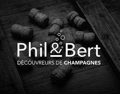 Phil&Bert - Découvreurs de champagnes