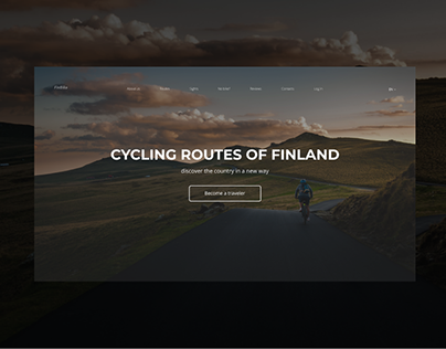 Cycling routes of Finland