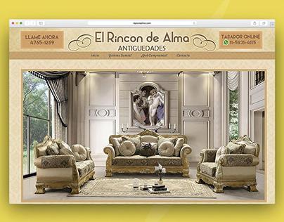 El Rincon De Alma | Diseño Web