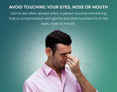 How to Avoid flu Social Post Design