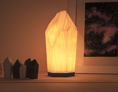 Wooden crystal
