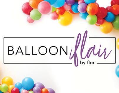 Balloon Flair Logo Design