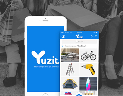 Yuzit - App for Lending and Borrow Things