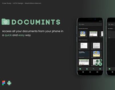 Documents/Files Organization App UX Case Study