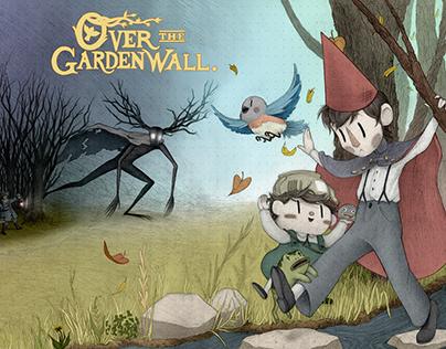 Over The Garden Wall: Fan Art Illustration