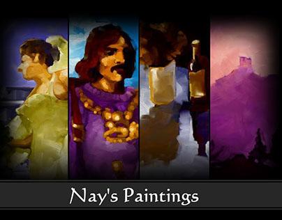 Digital Paintings - 2003