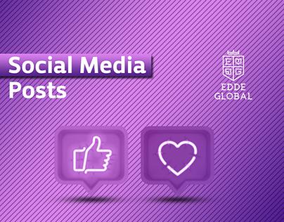 EDDE Global Social Media Posts