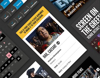 Everyman Cinema: Website Design