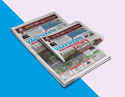 Gazete Tasarımı - Vakfıkebir Haber