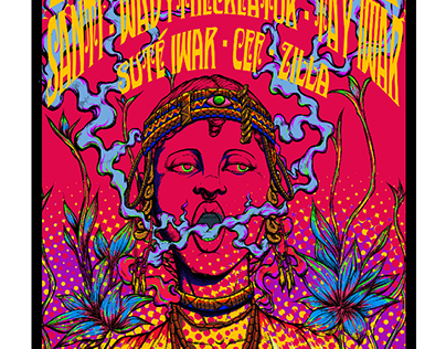 Eclectic Wax poster design