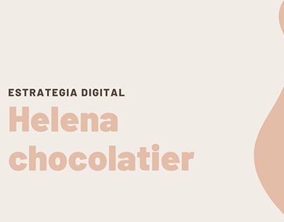 Estrategia digital - Helena Chocolatier