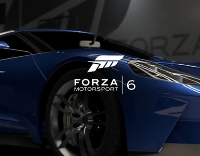 Forza Motorsport 6 - UI Design and Prototyping