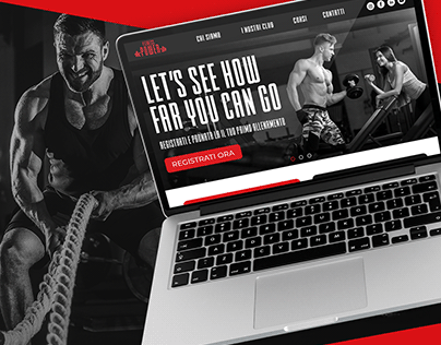 Fitness Power - Website Project