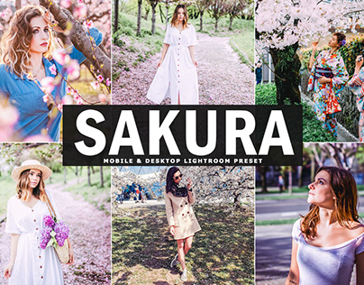 Free Sakura Mobile & Desktop Lightroom Preset
