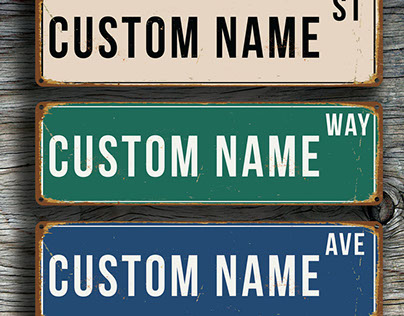 Name By Design: Custom Baby Name Signs