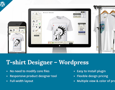 WordPress T-shirt Designer Plugin