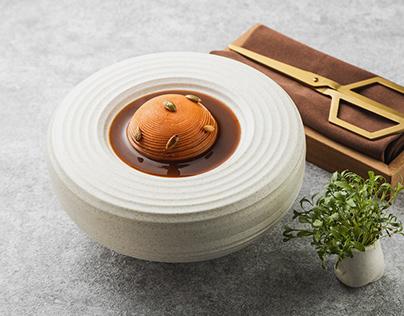 Modern food photography