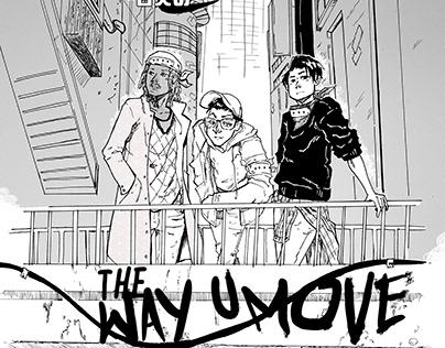 WhitePPL: The Way U Move single poster
