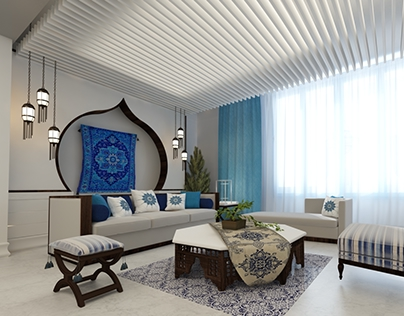 Andalusian room