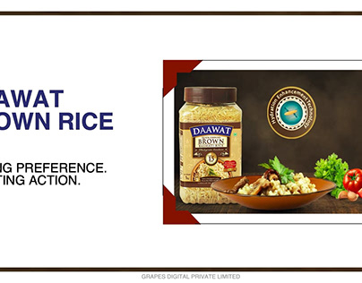 Daawat Brown Rice - Digital Content Strategy