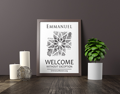 EMMANUEL CHURCH WELCOME BAGS AND PROMOTIONAL DESIGN